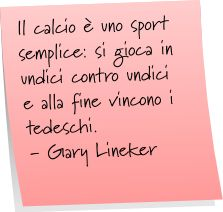 Frasi Celebri & Citazioni: Aforismi e Frasi sul Calcio