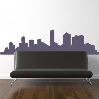 Naklejka na ścianę Miasto 6 cena 25,90 PLN #naklejka_miasto #naklejka_dekorcyjna #naklejka _ścienna #wall_stickers #town #home_decor