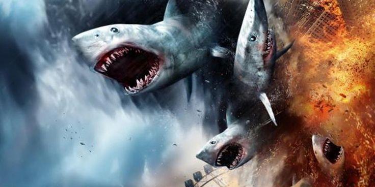 Sharknado 5 | O filme mais louco da história ganha data de estreia