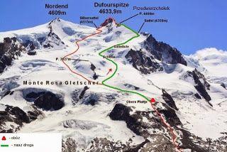 Geociekawostki: Wyprawa na najwyższy szczyt Szwajcarii – Dufourspitze (4634m n.p.m.)