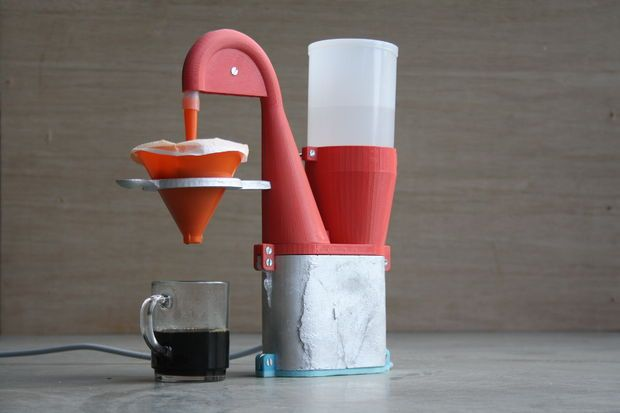 Electric Coffee Maker #3D_Printing #beverage #kitchen