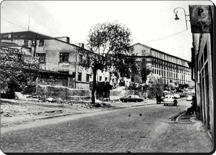 Unkapani / Cibali / Tütün ve sigara fabrikasi 1960'lar