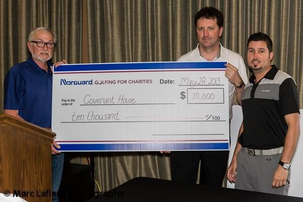 A big thank you to our friends at Morguard! Their golf tournament raised $10,000 for our kids!