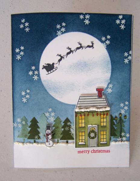 Holiday Night by Dolly Watt - Cards and Paper Crafts at Splitcoaststampers