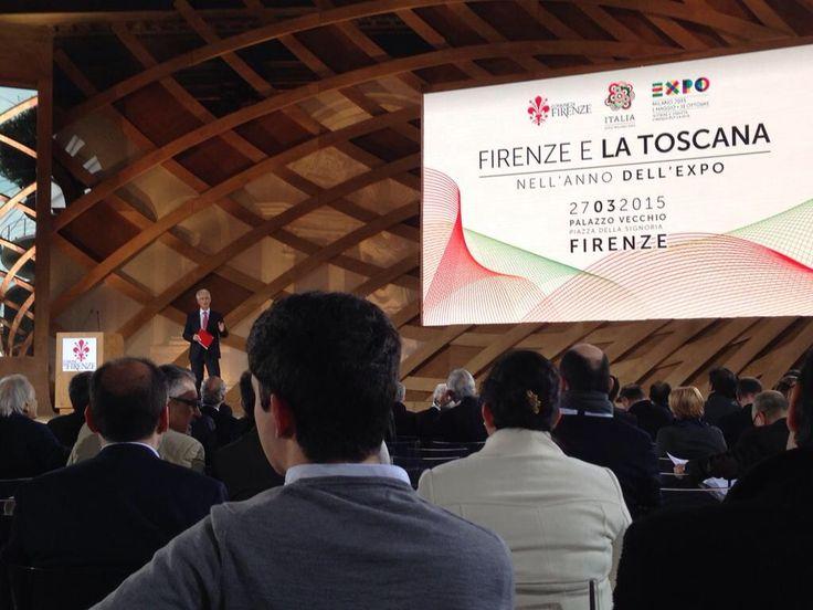 Firenze e la Toscana nell'anno dell'Expo #italia2015 #raiexpo #expoidee #expo2015 #italia #worldfair #firenze
