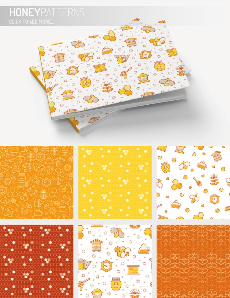 ALL ABOUT HONEY Line Vector Icons & Package Design on Behance