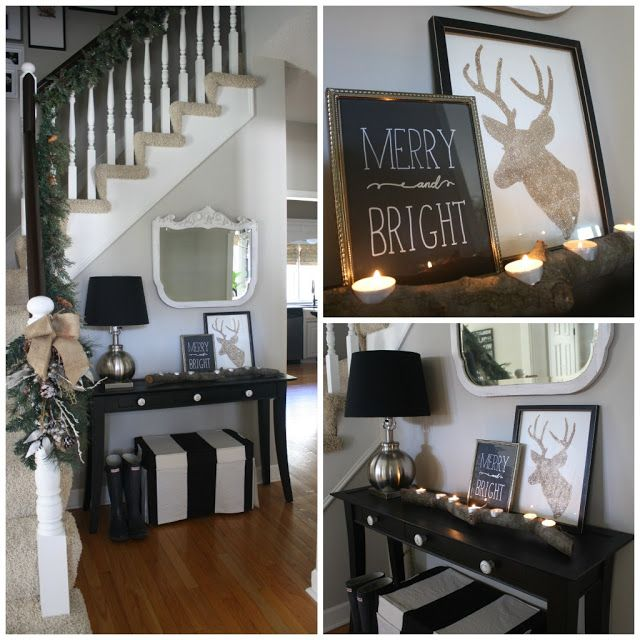 Decorating Your House For Christmas: 1000+ Ideas About Christmas Entryway On Pinterest