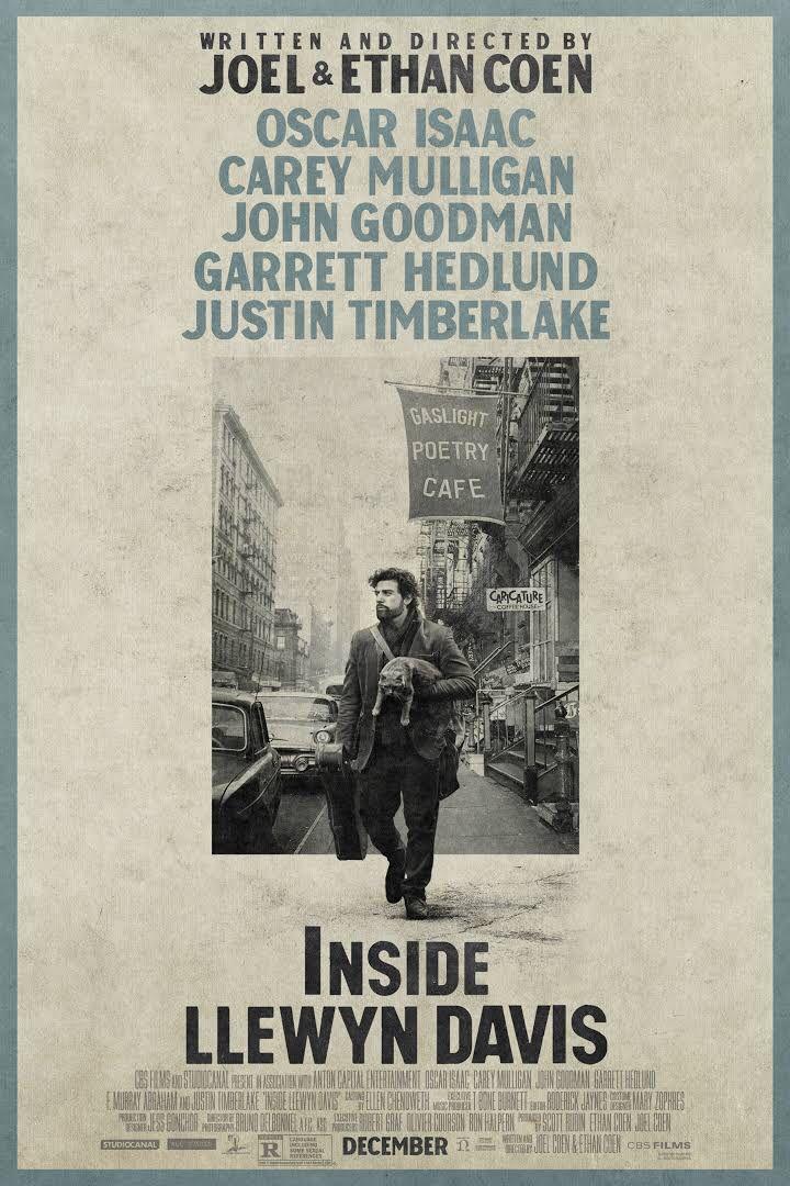 Inside Llewyn Davis (a Cohen Bros film) (2013
