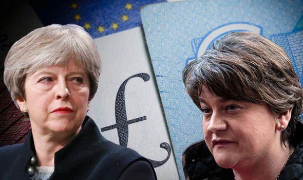 Pound V euro: GBP exchange rate retreats as DUP derails Brexit agreement