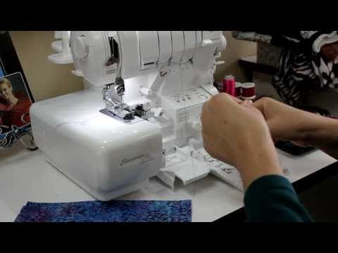Instal a zipper using a serger??  All you need is the 3mm or 5mm Cording Foot and the zipper sits right there in the groove, watch:
