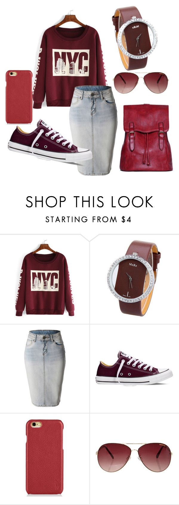 """""""Apostolic Fashion!!!"""" by babee-rikki on Polyvore featuring LE3NO, Converse, Polo Ralph Lauren, MINKPINK, women's clothing, women, female, woman, misses and juniors"""