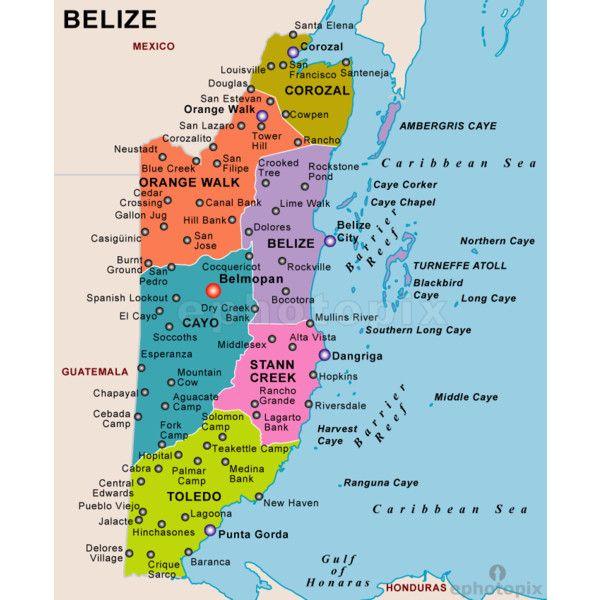 Best El Salvador Belize Images On Pinterest Central America - Political map el salvador