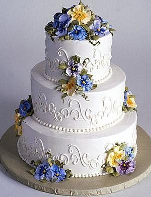 Свадебные торты | Торты на заказ Кондитерский дом Парадиз