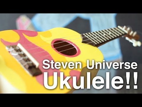 Replica DIY Steven Universe Ukulele!! - YouTube