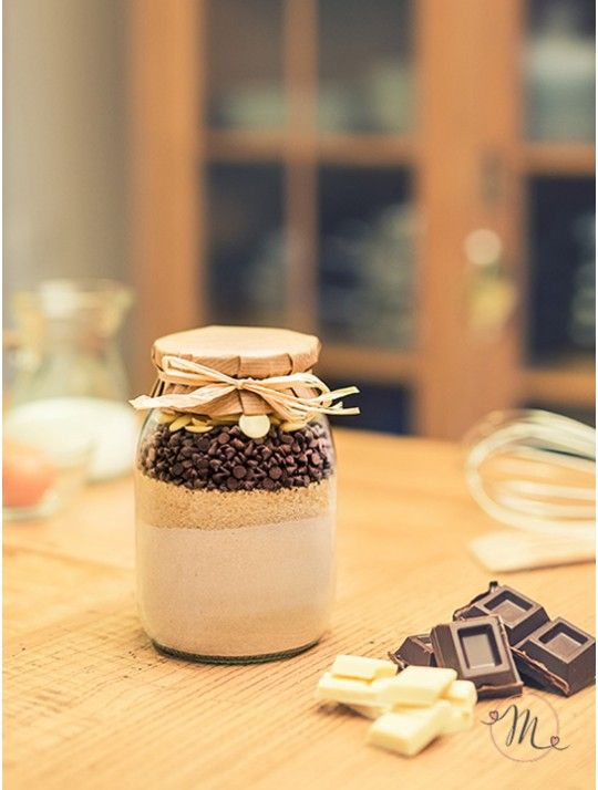 Preparato per muffin Double chocolate. Per 12 Muffin. Realizzato con materie…