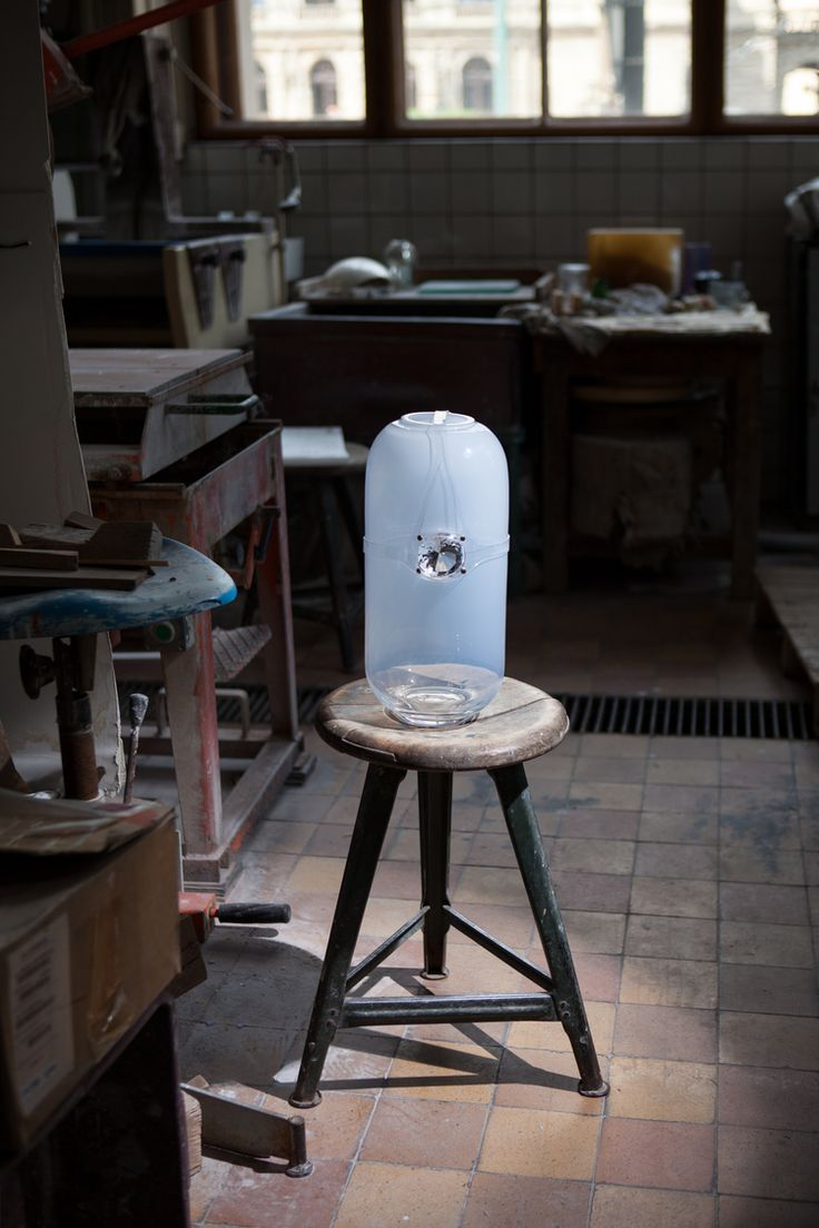 Harness vase with Diamond shape ball gag