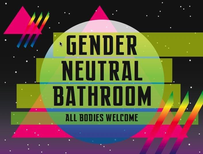 25 Best Ideas About Gender Neutral Bathroom Signs On Pinterest Gender Neutral Toilets Gender