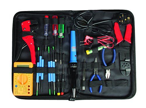 Maplin 20 Part Electronics Electricians Computer PC Repair Maintenance Tool Kit Soldering Iron Multimeter S No description (Barcode EAN = 5026686135541). http://www.comparestoreprices.co.uk/december-2016-3/maplin-20-part-electronics-electricians-computer-pc-repair-maintenance-tool-kit-soldering-iron-multimeter-s.asp