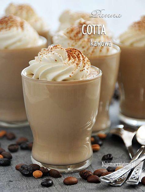 Panna Cotta kawowa
