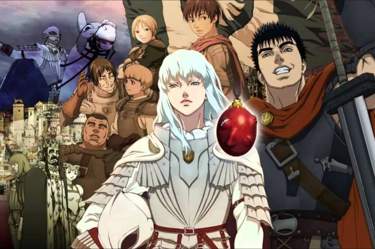 Finally saw all three Berserk movies — I liked them.  You can read through for my review. I don't make any spoilers for this one, it's just my thoughts on this particular adaptation of Berserk.  Berserk is absolutely one of the best manga ever written.
