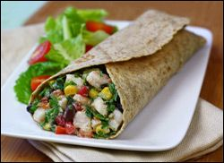 No-Cook Recipes, Lunch Wraps, Recipes for One | Hungry Girl: Hungry Girls, No Cooking Recipe, Lunches Wraps Recipe, Wrap Recipes, Shrimp Salads, Salad Wraps, Healthier Recipe, Ww Recipe, Healthy Lunches
