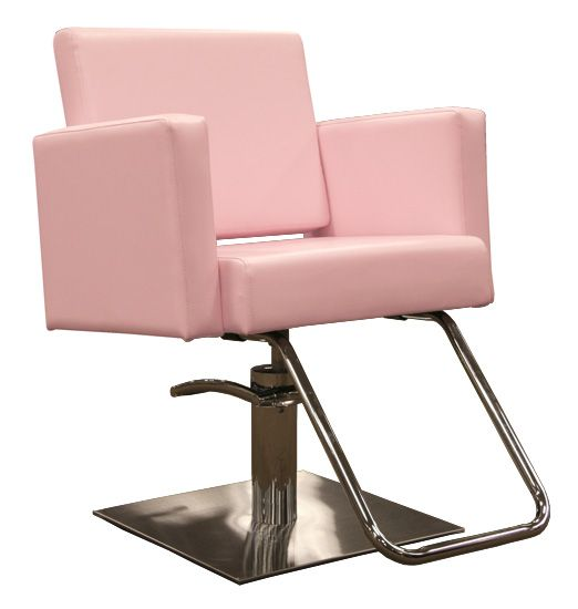 Have an up do party before the show in this baby pink for Salon bench