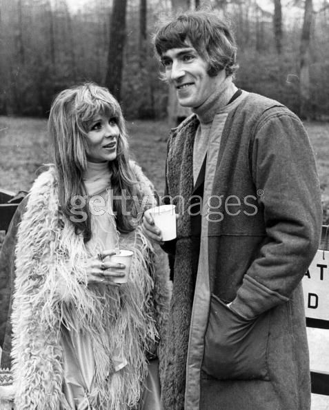 Peter Cook and Judy Huxtable
