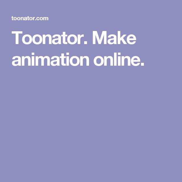 Toonator. Make animation online.