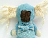 Koala Soft Toy, Australiana, Eco Friendly Plush, Koala Plush, Australian Animal, Blue Baby Boy's Toy