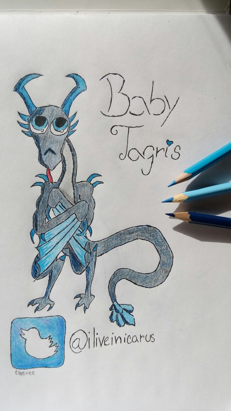 Baby Tagris by: Cleeree Twitter: @iliveinicarus Well soon Spring will arrive, and Spring means alot of new babies and little animals, alot of cute stuff. Well I created my idea for Baby Tagris from Riders of Icarus!