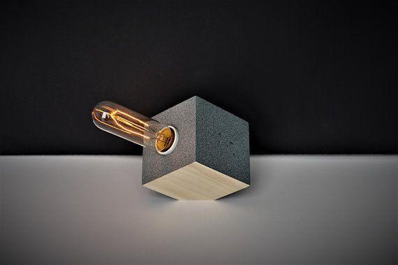 Lampe De Table De Bureau Moderne Zen Bois De Palette Recycle