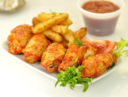 Alitas de Pollo Adobadas Te enseñamos a cocinar recetas fáciles cómo la receta de Alitas de Pollo Adobadas y muchas otras recetas de cocina..