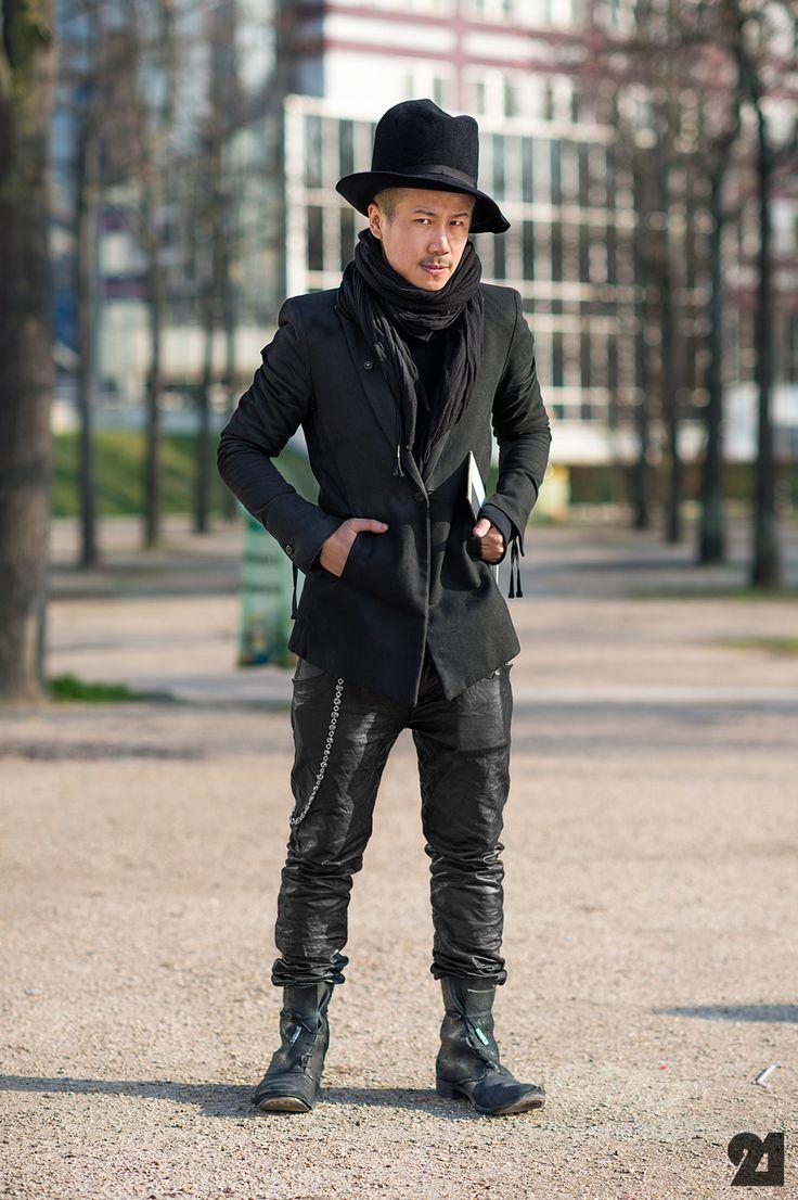 Boris Bidjan Saberi Street Style Darkwear Pinterest Moda Uomo E Moda