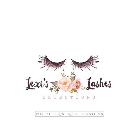 Eye Lash Logo Make Up Logo Beauty Logo Cosmetic Logo Etsy