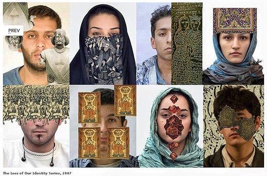 Sadegh Tirafkan - loss of our identity series