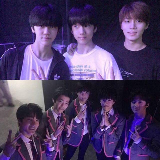 Jaemin, Jisung, Taeil(only In The Top), Jeno, Donghyuk