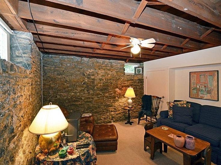 9 best Unfinished Basement Ceiling Ideas images on Pinterest