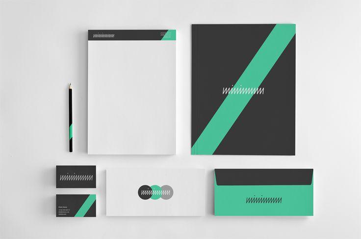 Minimal #Branding Identity | Notepad, Presentation Folder ...