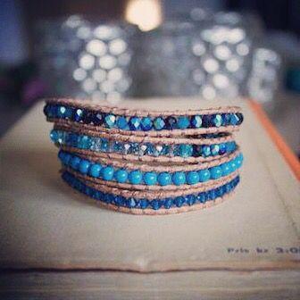 Blir Fuji-four layers Wrap bracelet