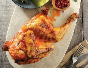 Pollo rostizado al guajillo