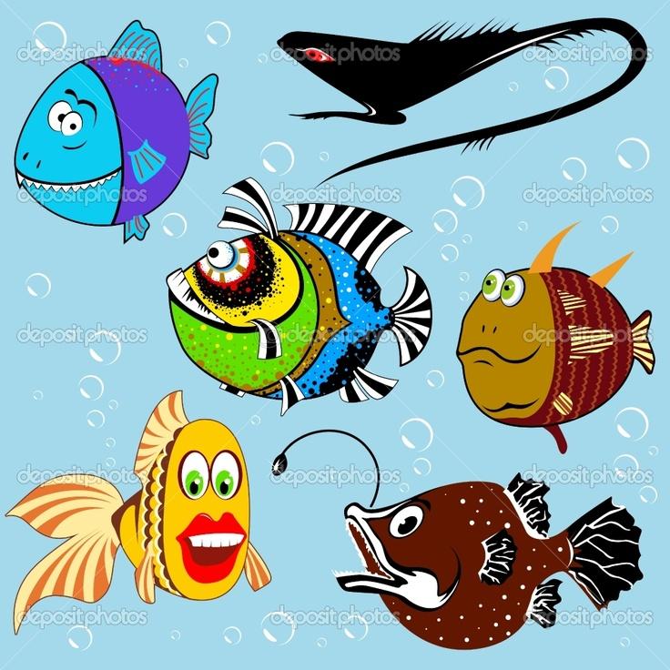 Painting Cartoon Fish   Google Search