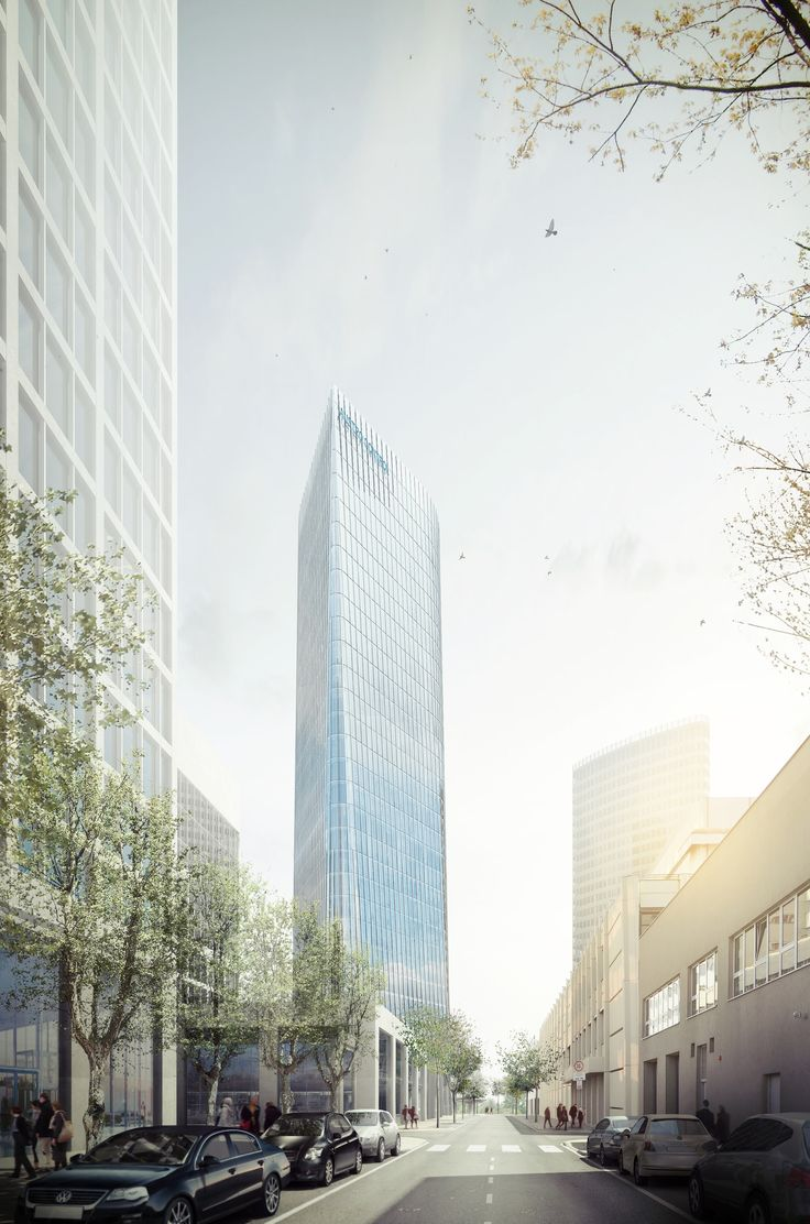 Gallery of AZPML and SHARE Selected to Design 115-Meter Viennese Office Tower - 1