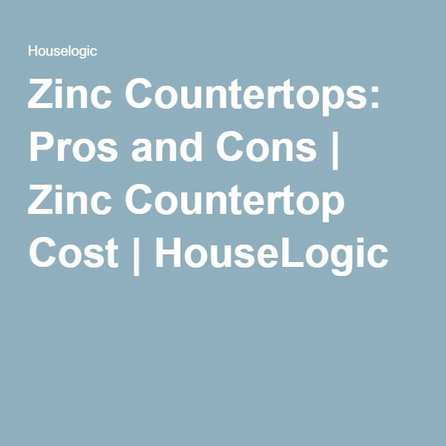17 best ideas about zinc countertops on pinterest zinc for Zinc countertop cost