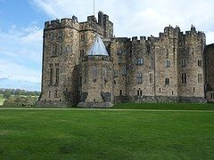 Castillo De Alnwick, Inglaterra