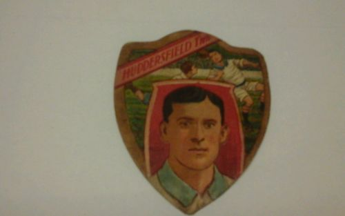 J-Baines-Football-Shield-Card-Huddersfield-Town-Collectable-and-rare