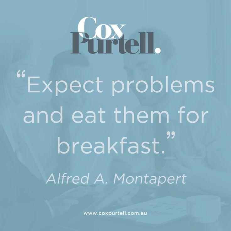 Alfred A Monapert Quote - Cox Purtell Recruitment
