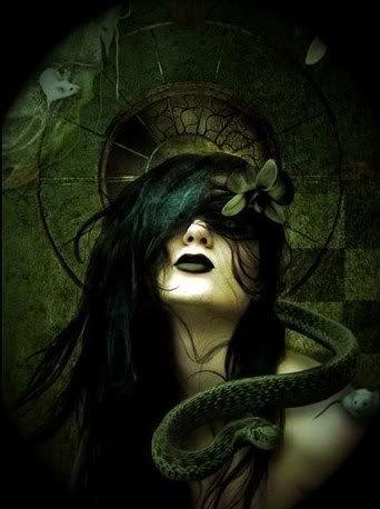 Beautiful Dark Goth Angel