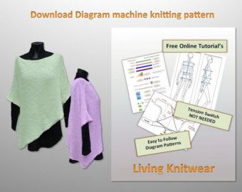 YouTube videos to help you, for easy access go to www.houseoflavene.co.uk The Keys to Pattern Symbols  Now you can knit your own House of Lavene designer clothes! (N.B. The garments are also available to buy in our shop here on Etsy)  Visual Patterns, for Visual people. Pattern number four, hundreds to come that we are releasing to the public - The FORESTER TUNIC - which is a fabulous and very individual machine-knitted Tunic, with sleeve instructions included. Anne Lavenes inspired and…