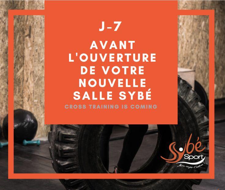J-7 avant l'inauguration de votre salle de Cross Training ! Tic tac tic tac ... ⏱ #Brest http://www.sybe-sport.com/