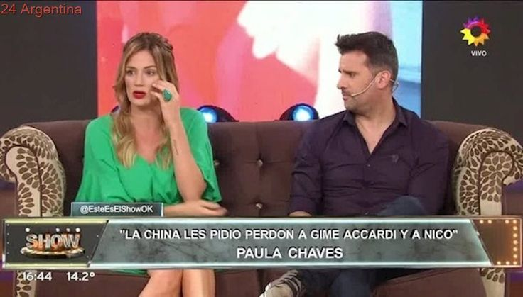 Paula Chaves se metió en medio de la pelea entre La China Suárez y Gimena Accardi